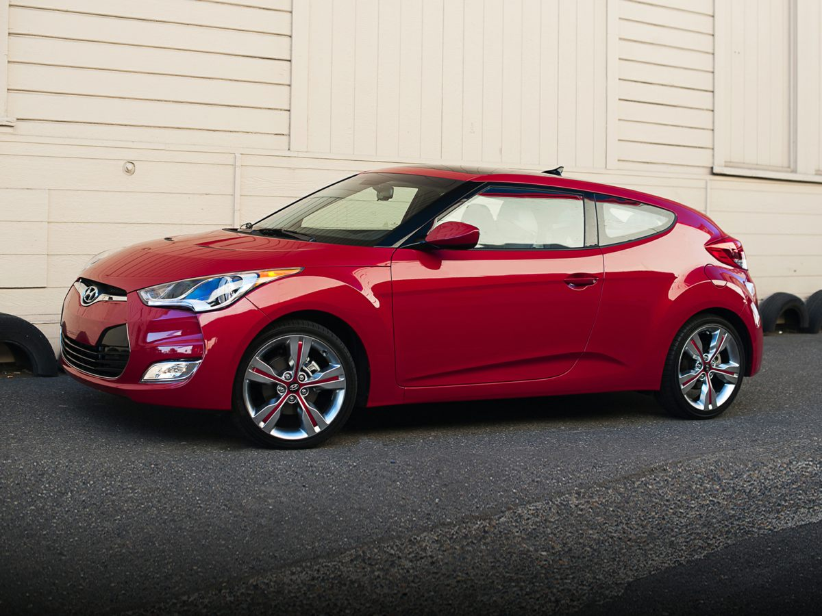 2014 Hyundai Veloster Base Black Stick shift Perfect Color Combination The smart way to buy H