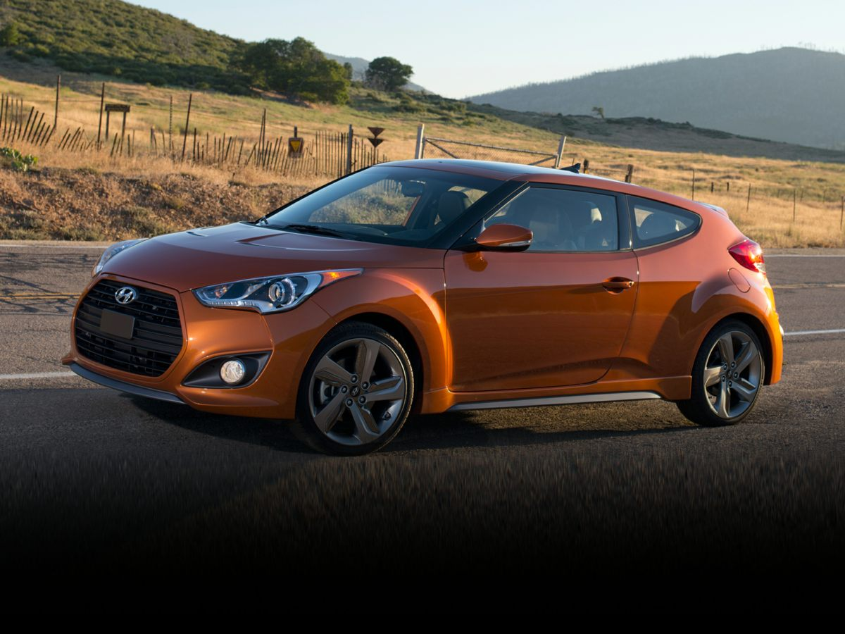 2013 Hyundai Veloster Turbo Blue Heated Front Bucket SeatsLeather Seating SurfacesRadio AMFMS