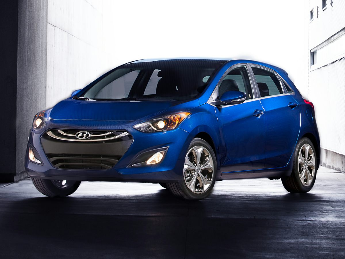 2014 Hyundai Elantra GT Base Blue Heated Front Bucket SeatsPremium Cloth Seating SurfacesRadio