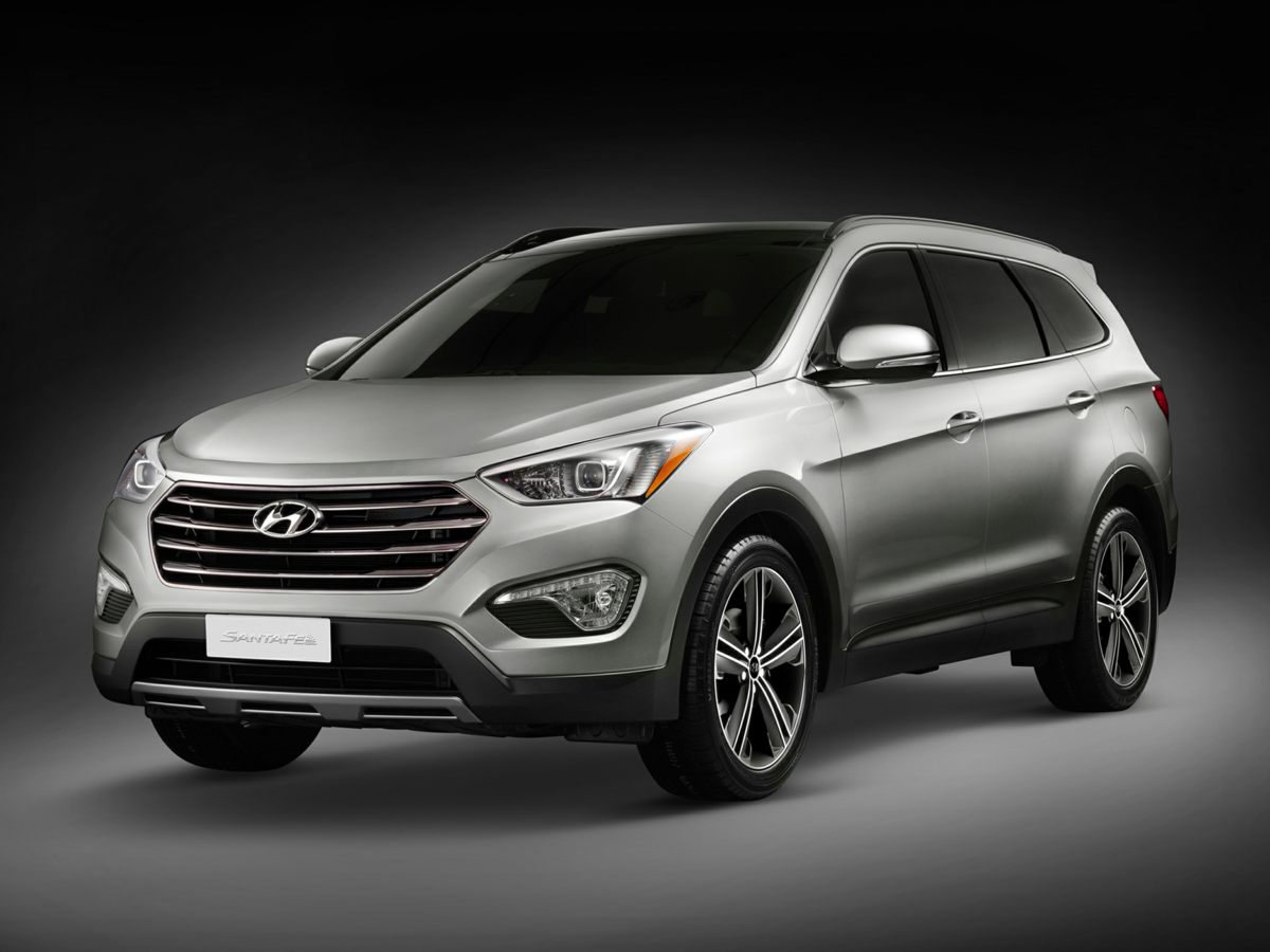 2015 Hyundai Santa Fe Limited Silver 6 SpeakersAMFM radio SiriusXMCD playerMP3 decoderRadio