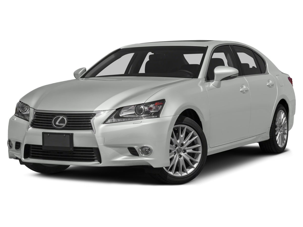 2015 Lexus GS 350 Black Leather-Trimmed SeatsRadio Lexus Premium AMFMDVDHD Audio System12 S
