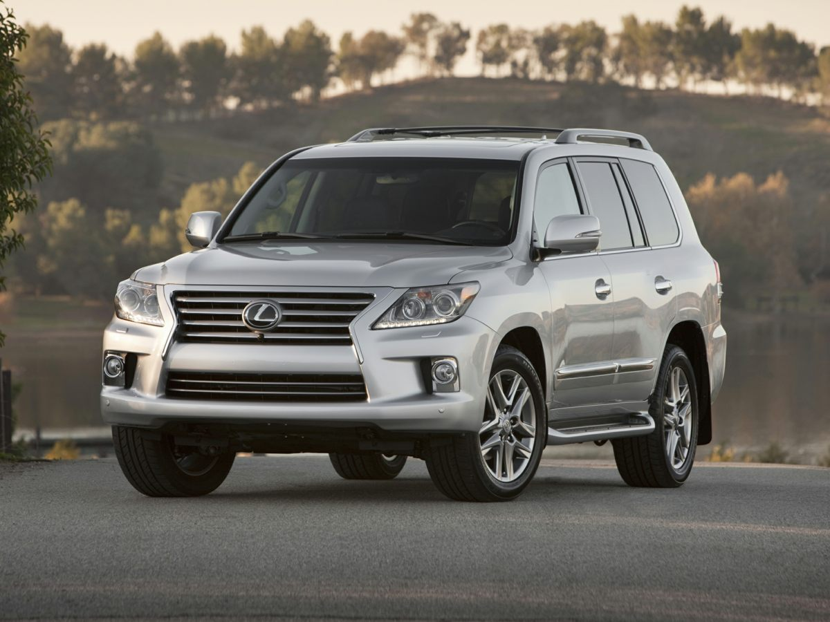 2015 Lexus LX 570 Gray 3909 Axle Ratio20 x 85 Split 5-Spoke Aluminum Alloy WheelsHeated Fro