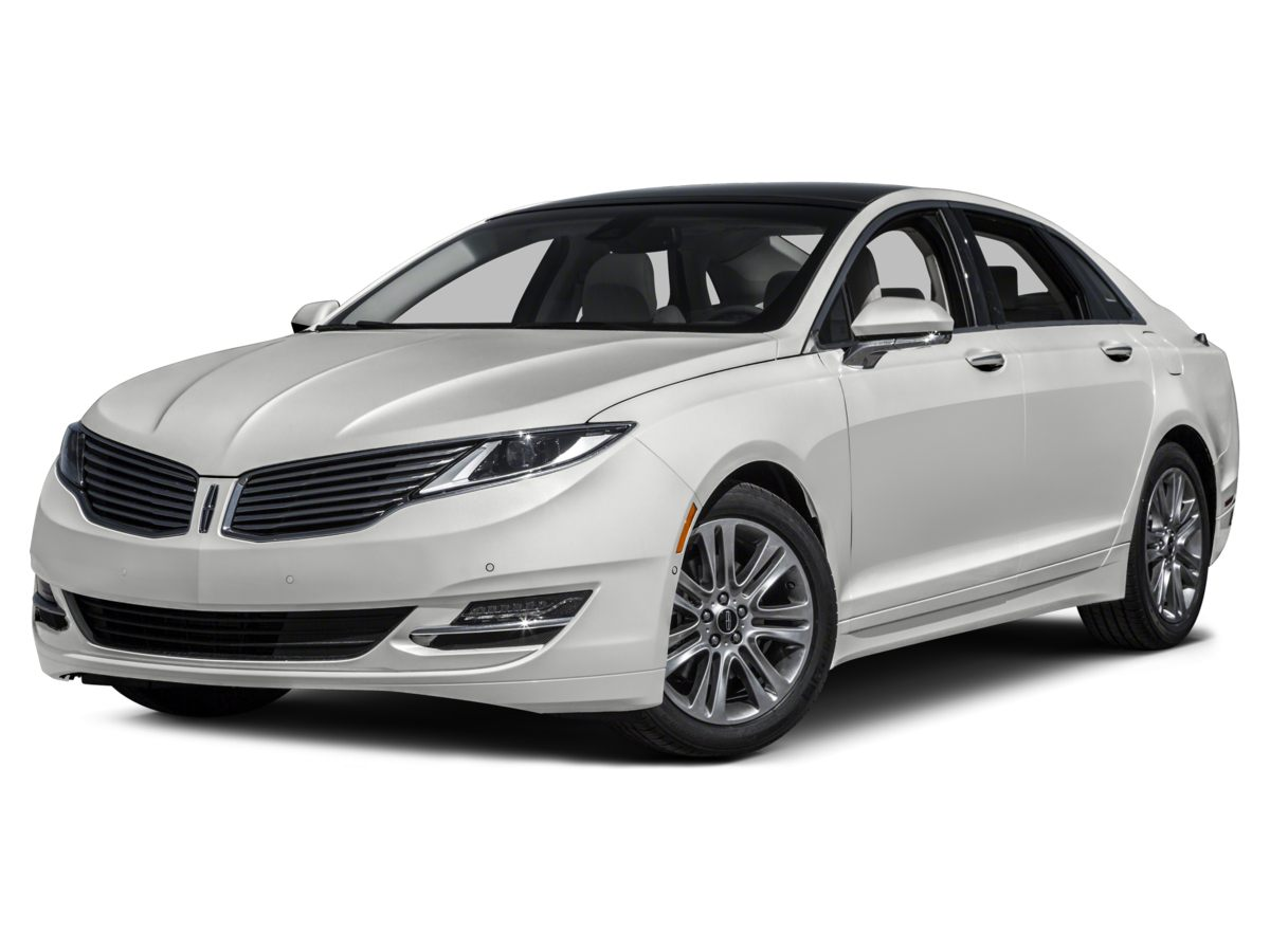 2014 Lincoln MKZ Base Silver Premium Leather-Trimmed Non-Perforated BucketsRadio Lincoln Premiu