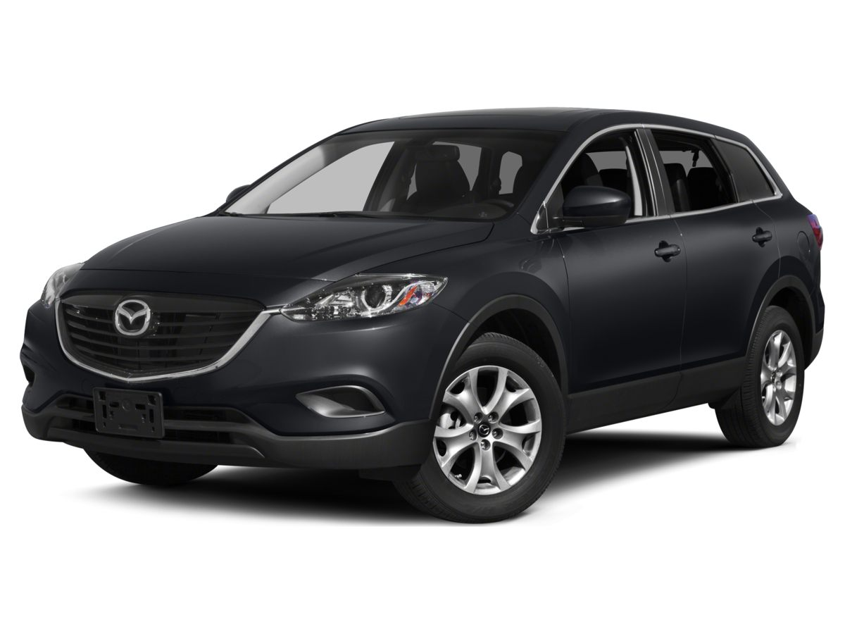 2015 Mazda CX-9 Touring Gray Leather Interior CX-9 Touring 4D Sport Utility AWD and Blind Spo