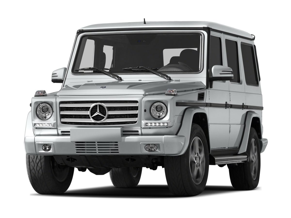 2013 Mercedes G-Class G550 4MATIC- 438 Axle RatioHeated  Ventilated Front Bucket SeatsPremium