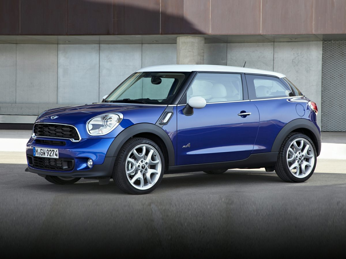 2013 MINI Cooper S Paceman Silver Cooper S Paceman and 2D Sport Utility Come to the experts Tur