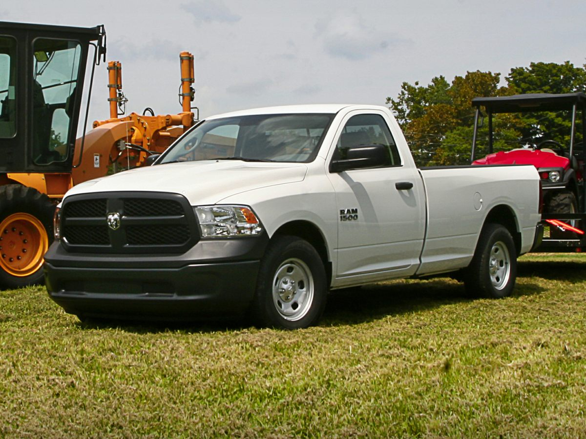 2014 Dodge Ram 1500 Tradesman White 321 Rear Axle Ratio17 x 7 Steel WheelsHeavy Duty Vinyl 40