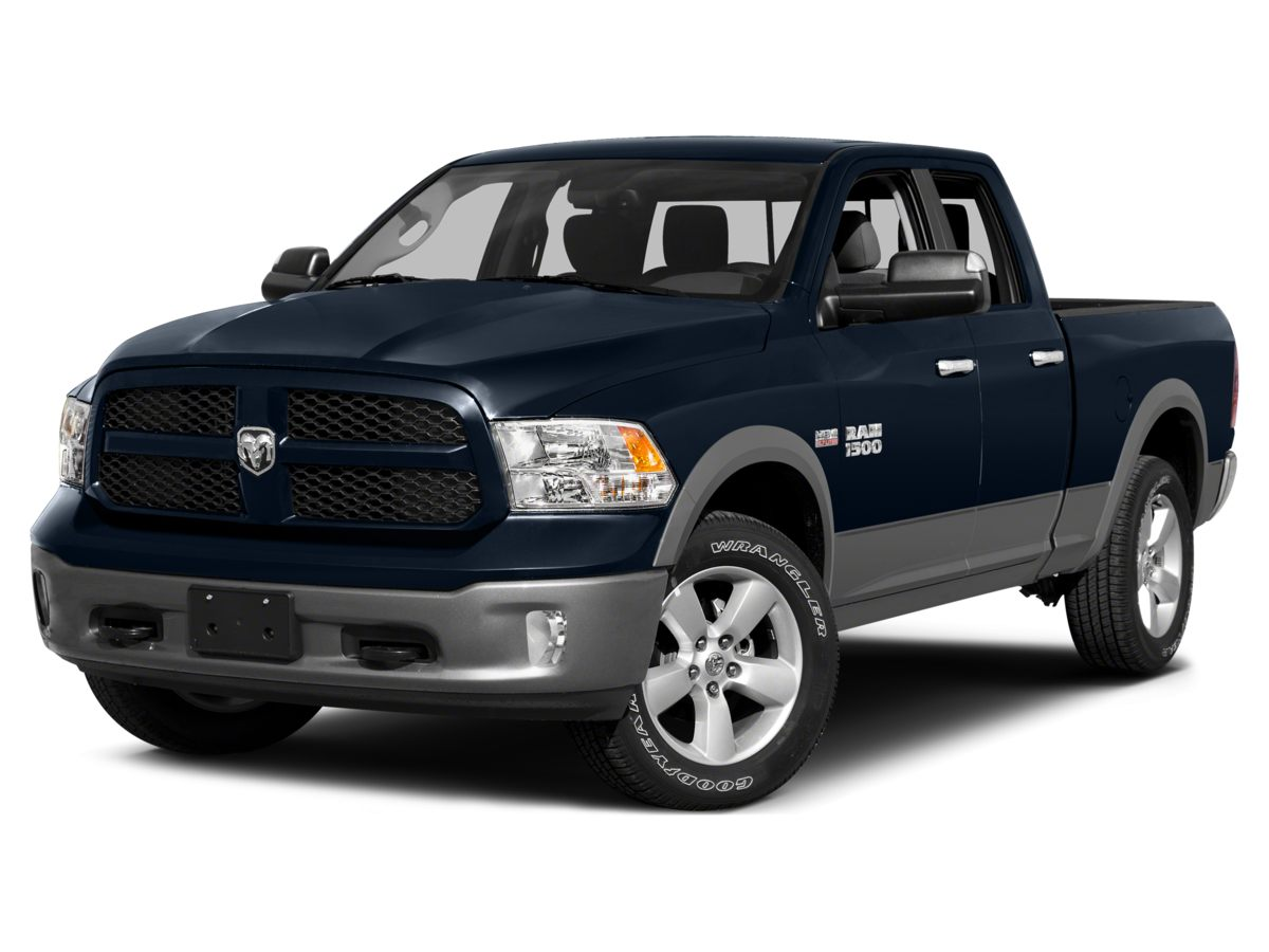 2015 Dodge Ram 1500 Black 321 Rear Axle RatioHeavy Duty Vinyl 402040 Split Bench SeatClass I