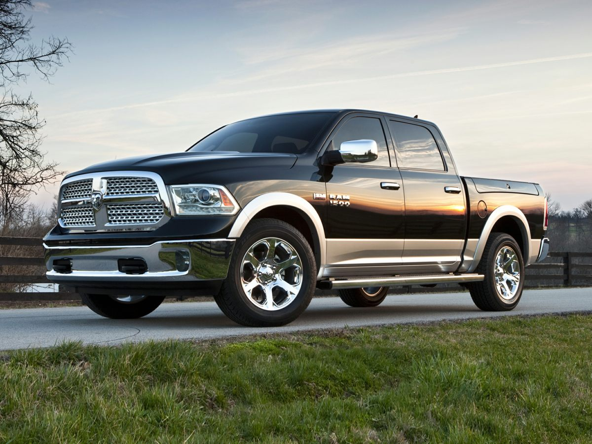 2014 Dodge Ram 1500 Laramie Longhorn Black 321 Rear Axle Ratio20 x 9 Aluminum PolishedGold In