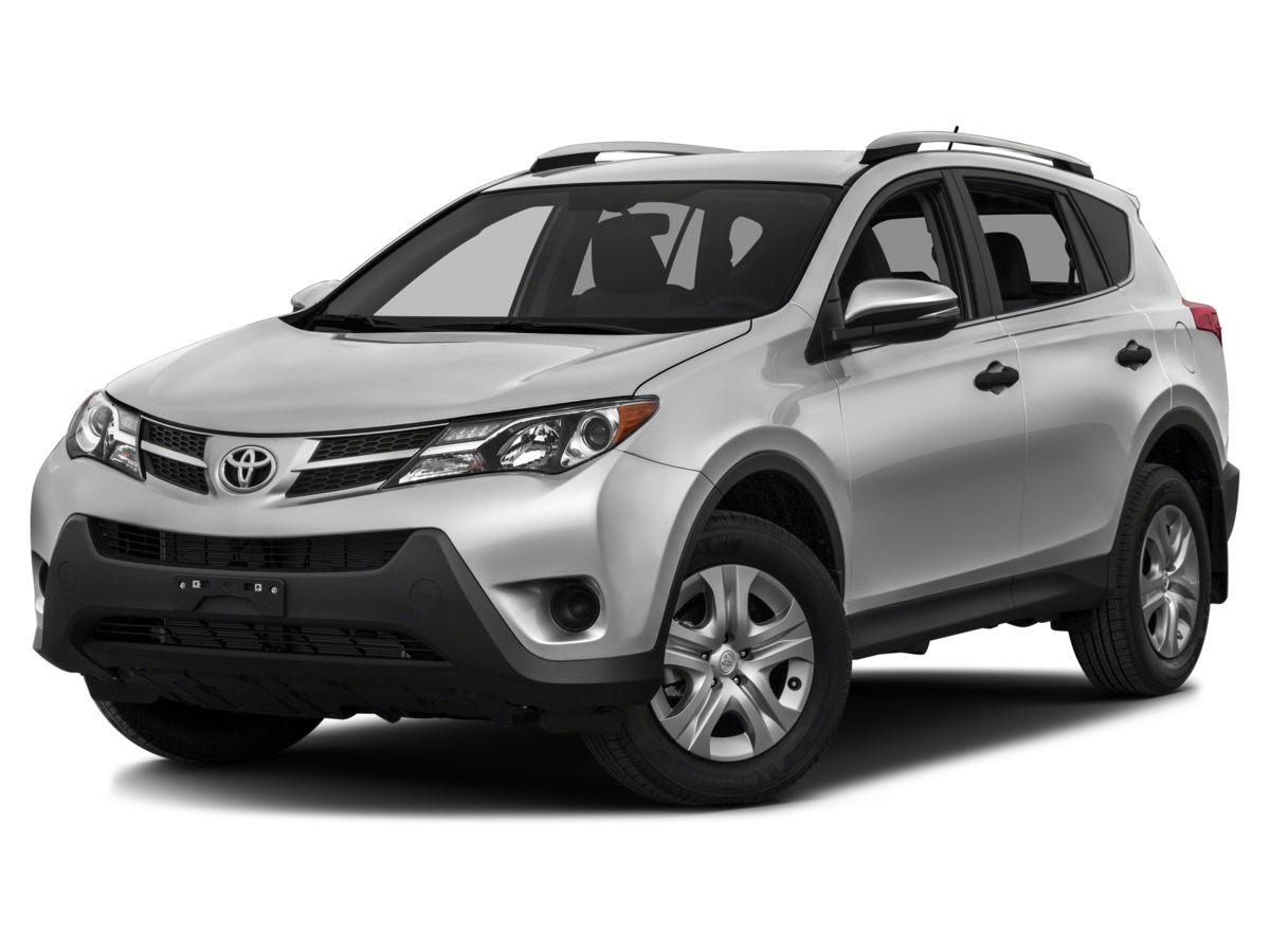 2015 Toyota RAV4 LE Red RAV4 LE and 4D Sport Utility Monumental gas savings Gas super saver Be