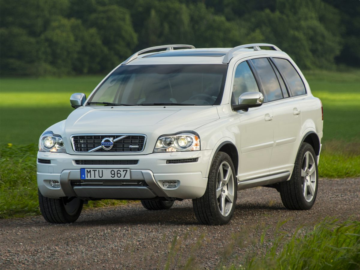 2014 Volvo XC90 White Climate Package Heated Front Seats and Interior Air Quality System IAQS