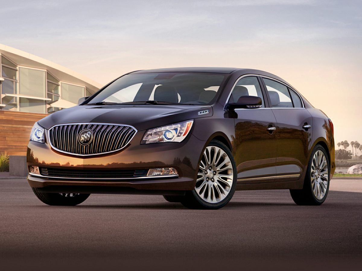2014 Buick LaCrosse Premium 2 Group Black GPS Nav Back in Black Are you still driving around tha