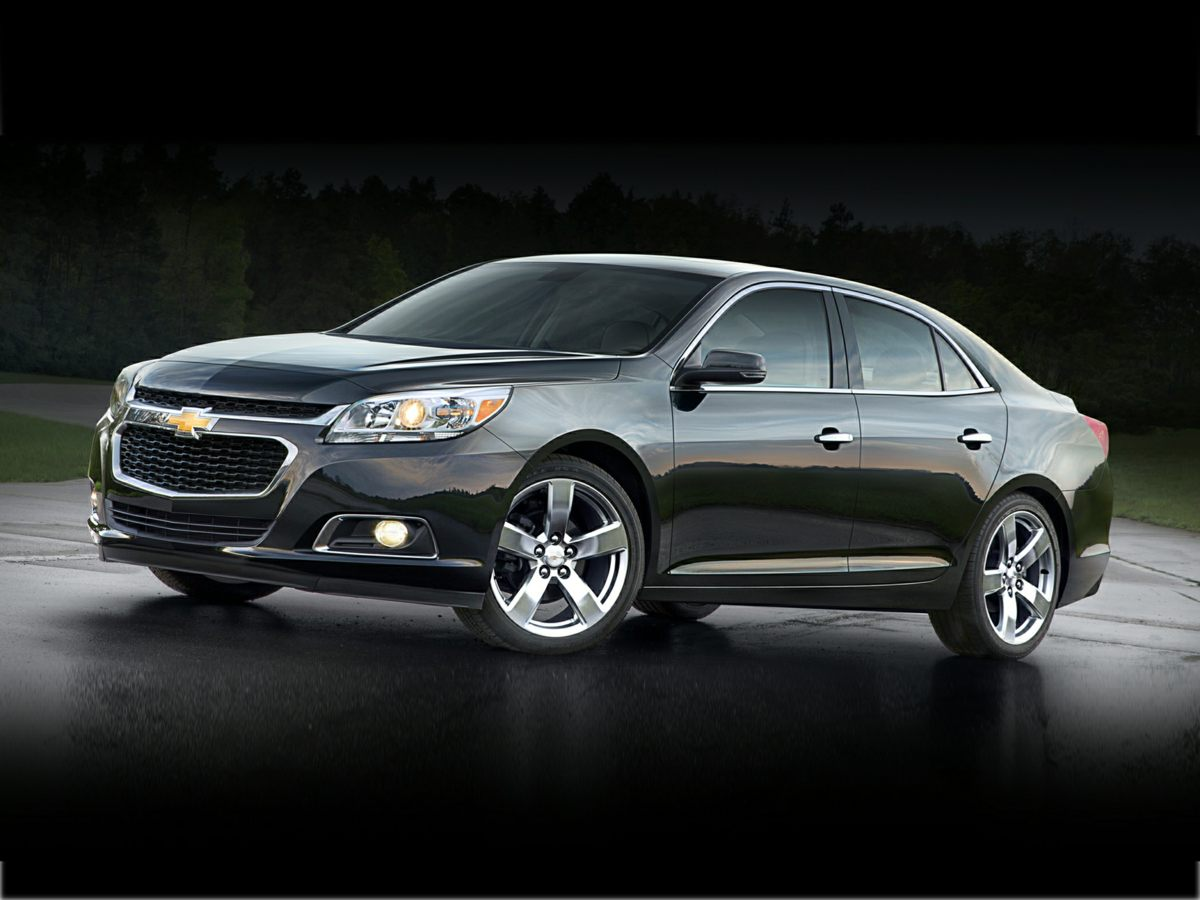 2014 Chevrolet Malibu LTZ Black Leather A real treat to drive Room enough to roll out the red c
