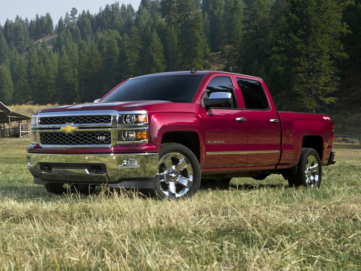 2014 Chevrolet Silverado 1500 LT Gray Recent Arrival CARFAX One-OwnerDont miss your chance t