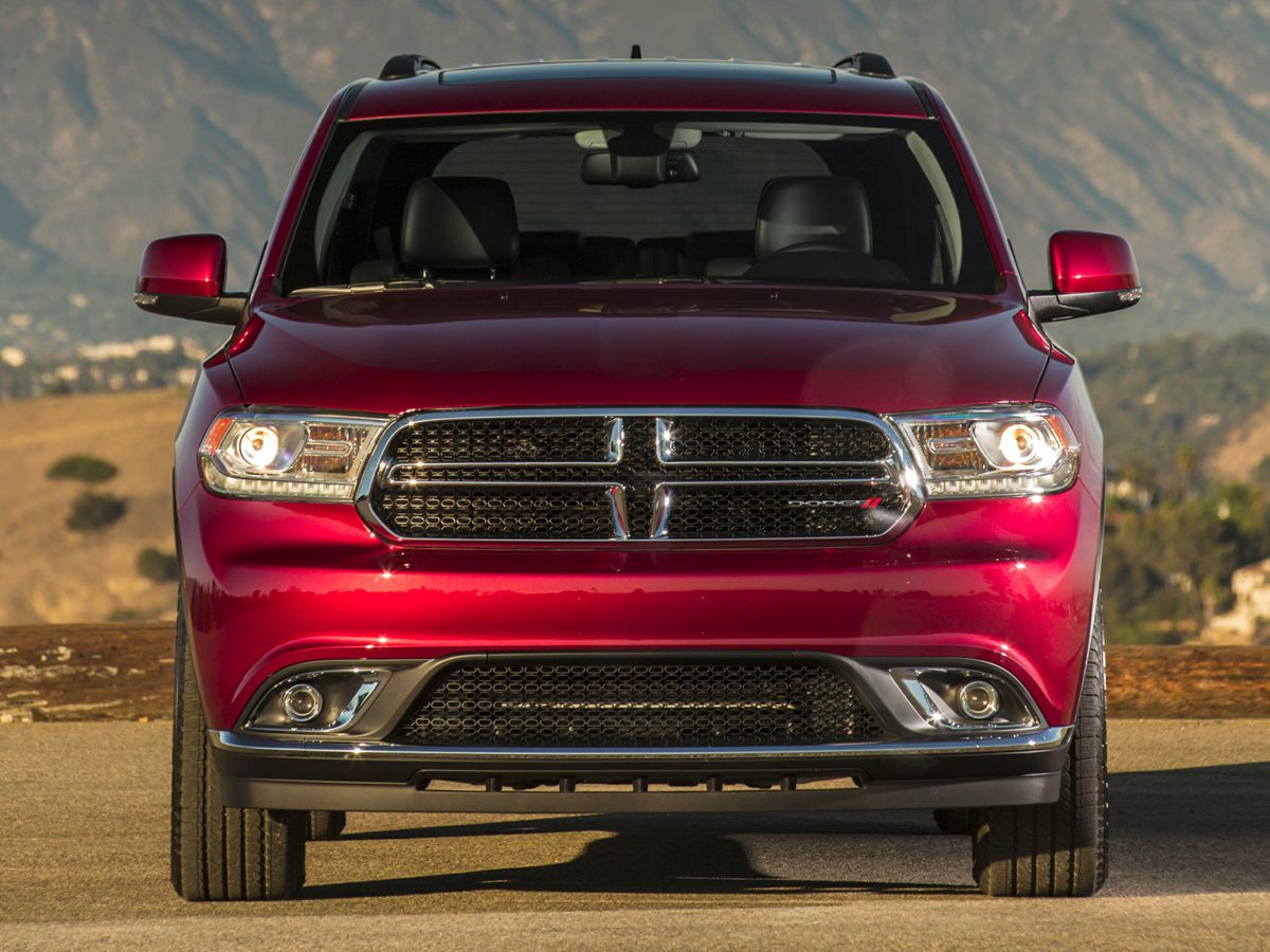 2014 Dodge Durango Limited Red 345 Rear Axle RatioLeather Trimmed Bucket SeatsRadio Uconnect 8