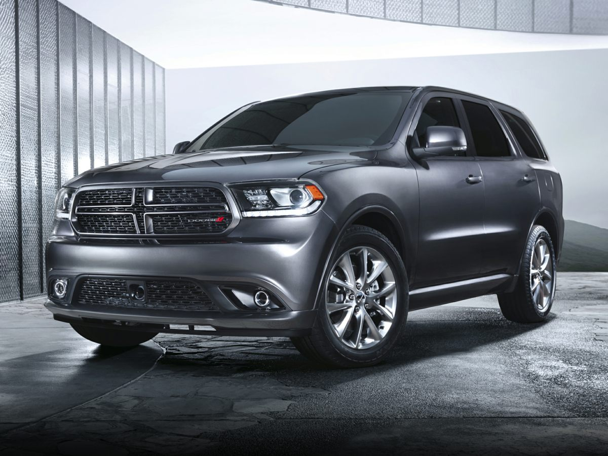 2014 Dodge Durango RT Gray 309 Rear Axle RatioLeather Trimmed Bucket SeatsRadio Uconnect 84A