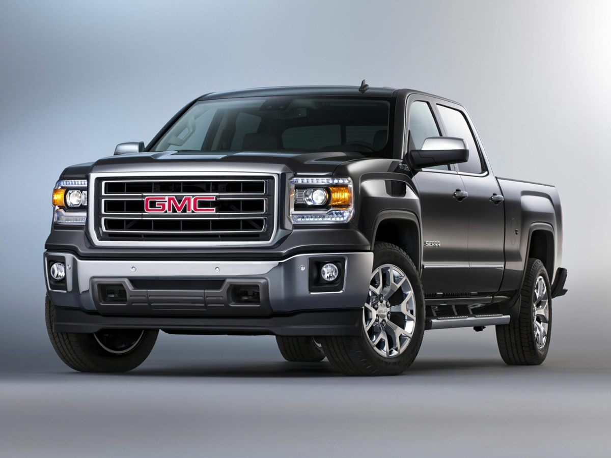 2014 GMC Sierra 1500 SLT Black 6-Speed Automatic Electronic with Overdrive and 4WD Perfect Color