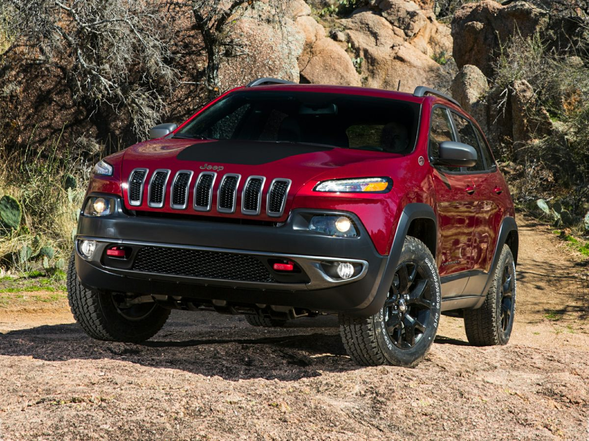 2015 Jeep Cherokee Trailhawk 408 Axle Ratio17 x 75 Aluminum WheelsPremium Cloth Low-Back Buck
