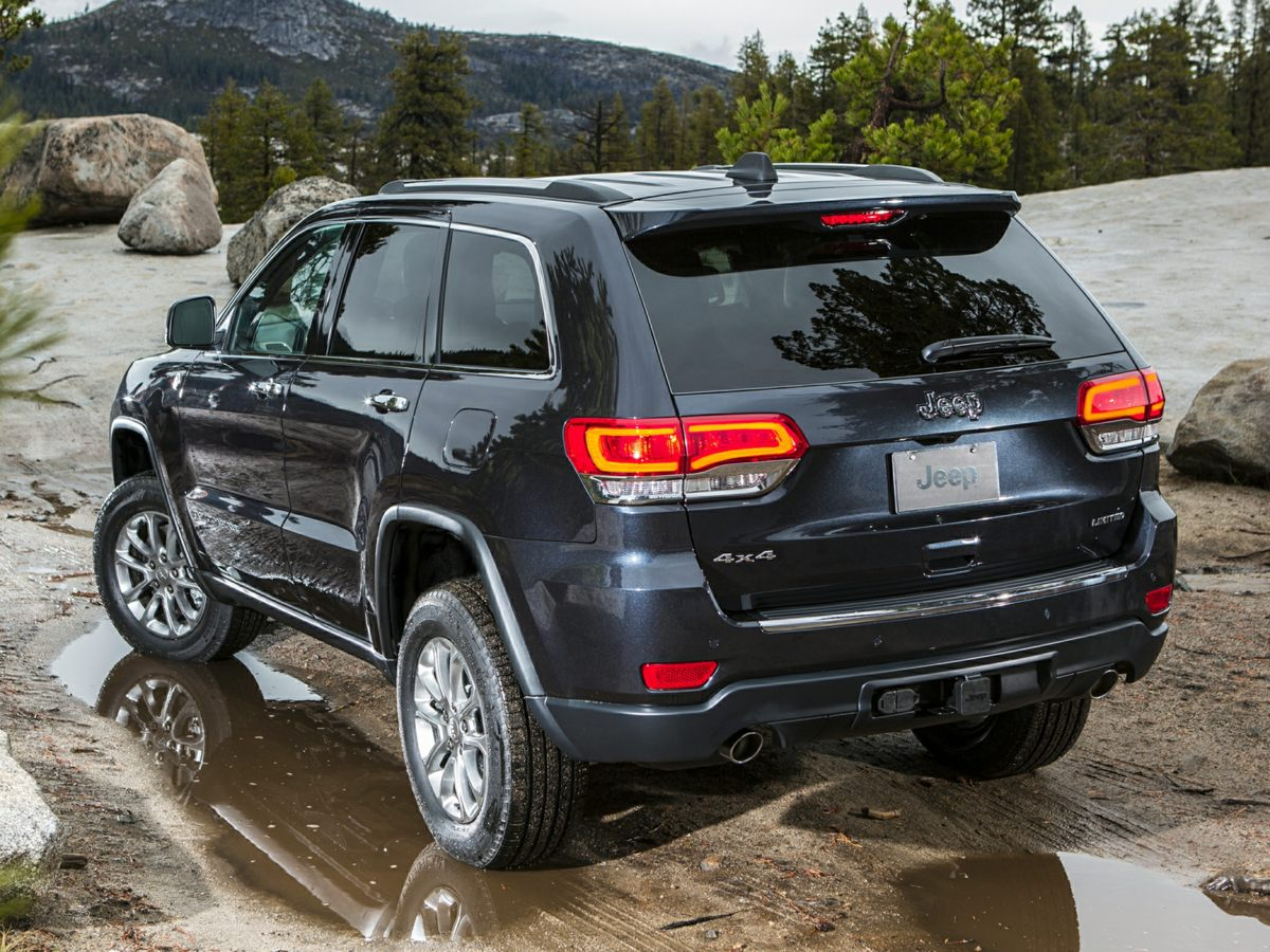 2015 Jeep Grand Cherokee OVERLAND SUV Slide