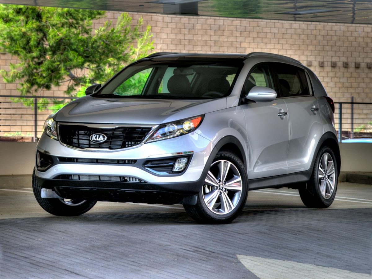2014 Kia Sportage EX Silver 3195 Axle RatioHeated Front Bucket SeatsClean Tex Cloth Seat TrimR