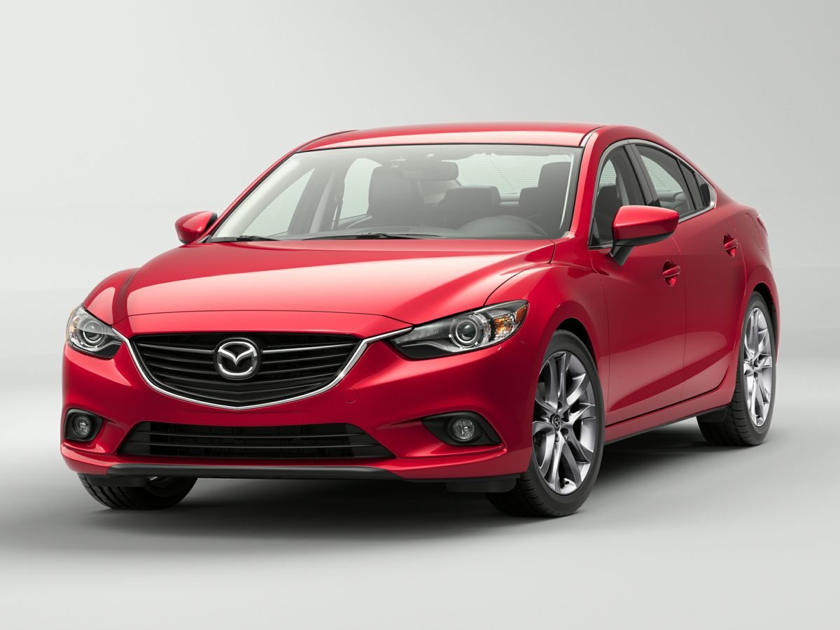 2015 Mazda Mazda6 i Black SKYACTIV-G 25L I4 DOHC 16V Dont bother looking at any other car Are