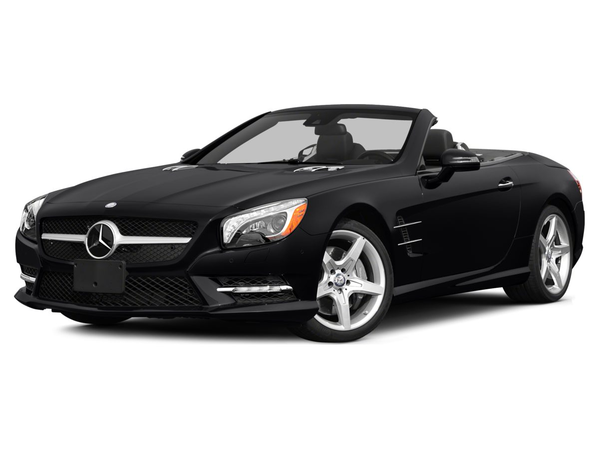 2014 Mercedes SL-Class SL550 Front Bucket SeatsLeather UpholsteryRadio COMAND- System wNavigat