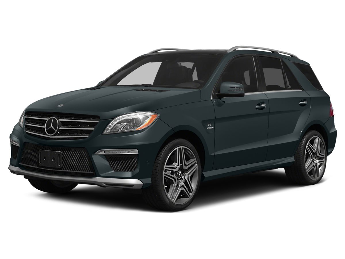 2014 Mercedes M-Class ML63 AMG- 367 Axle Ratio20 AMG- 5-Spoke WheelsHeated  Active Ventilate