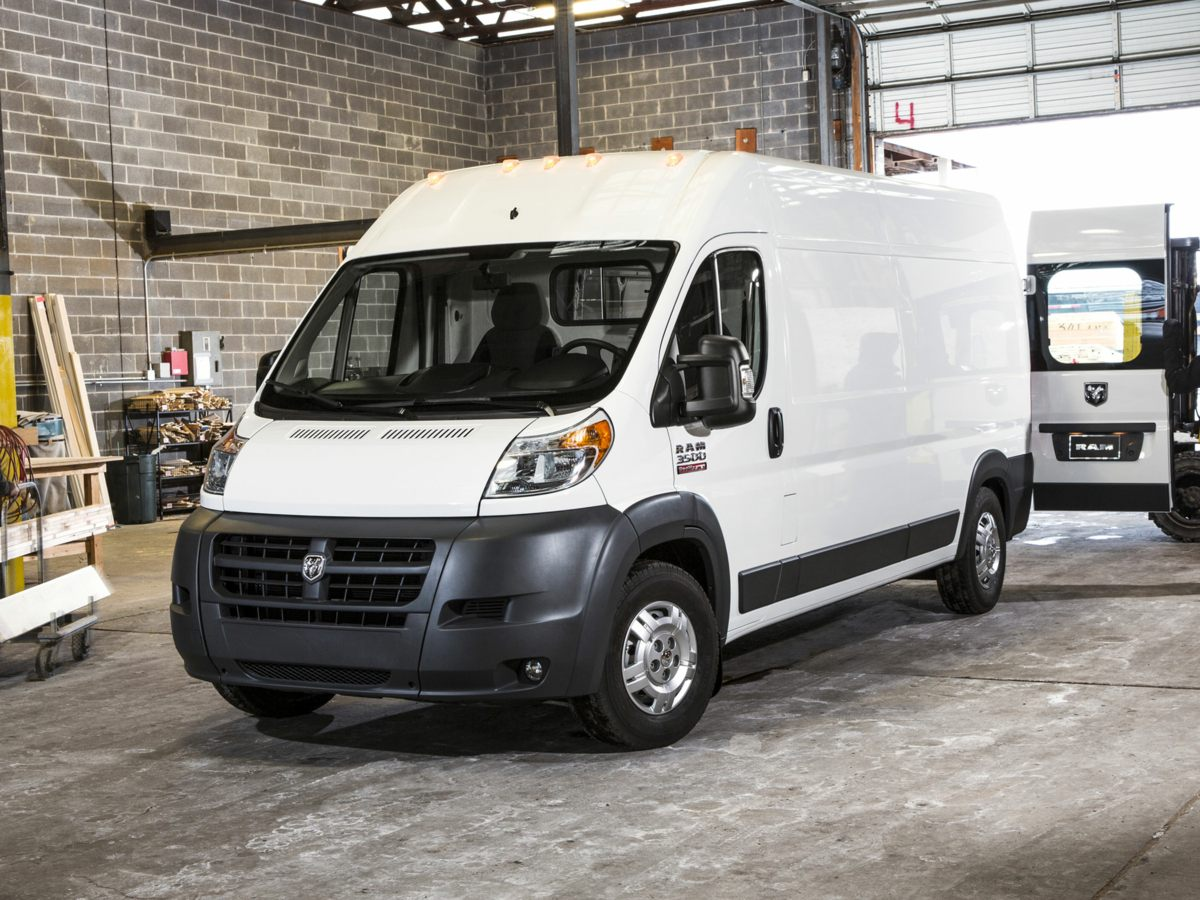 2014 Dodge ProMaster 2500 Window Van White Axle Ratio TBDWheels 16 x 60 SteelCloth Bucket S