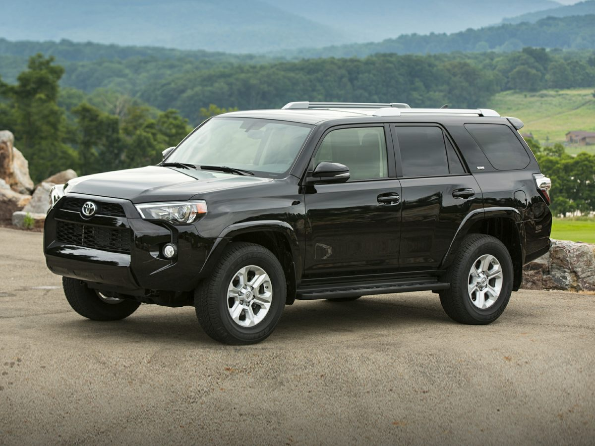 2015 Toyota 4Runner SR5 Premium Black 8 SpeakersAMFM radio SiriusXMCD playerMP3 decoderRadi