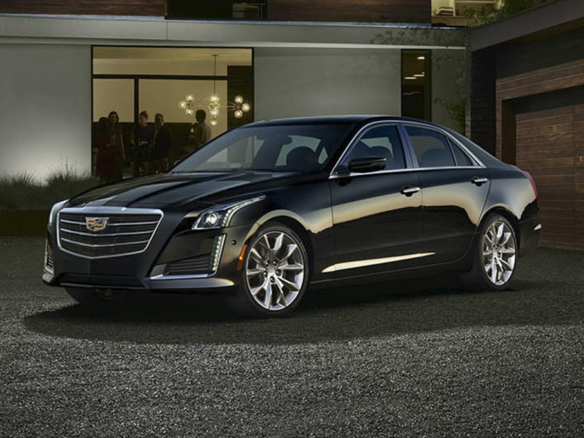 2015 Cadillac CTS 20L Turbo Luxury Black As tough as nails Upsized small-item in-cabin storage
