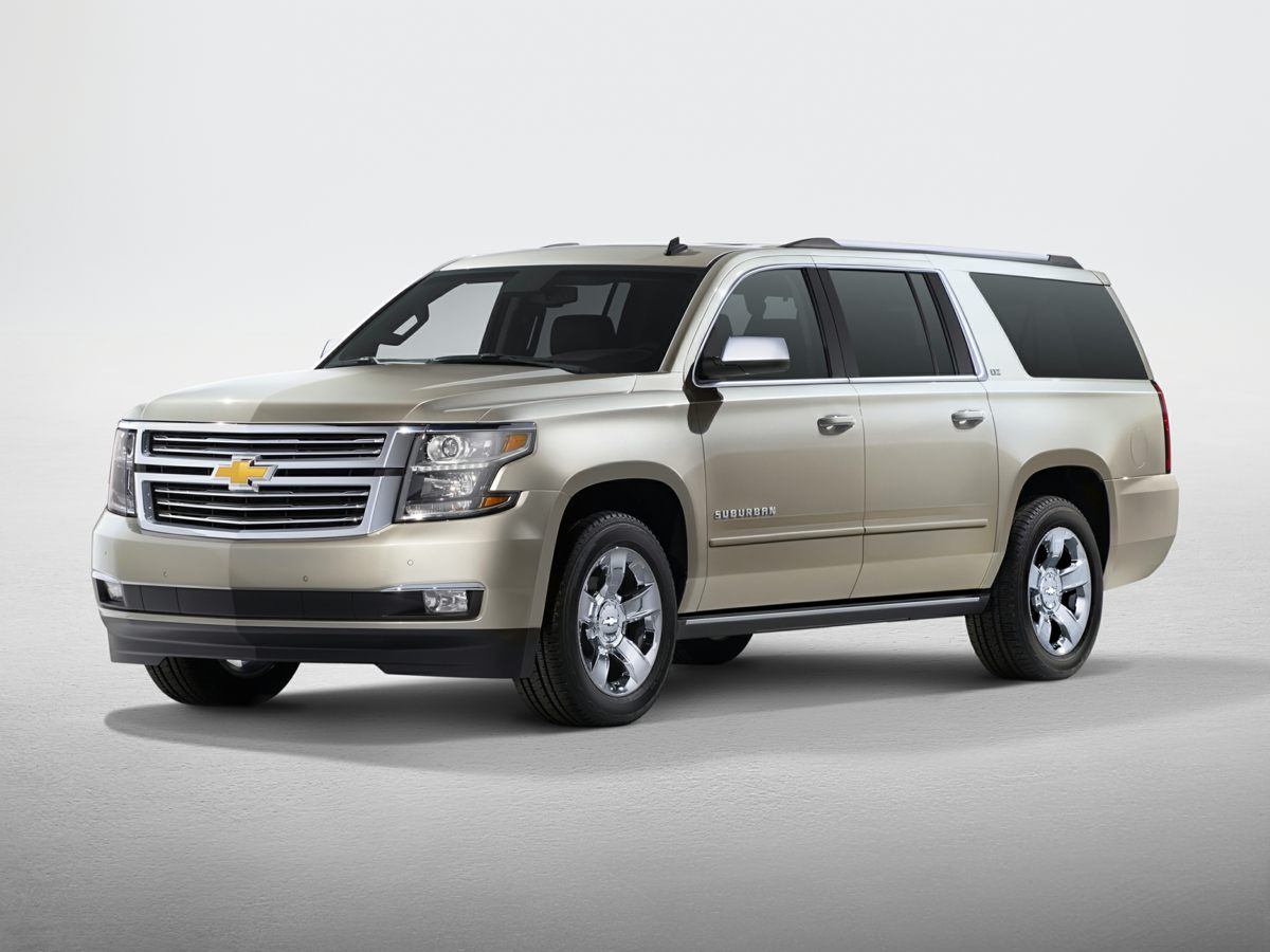 2015 Chevrolet Suburban LTZ Gray Max Trailering Package 2-Speed Active Electronic AutoTrac Trans