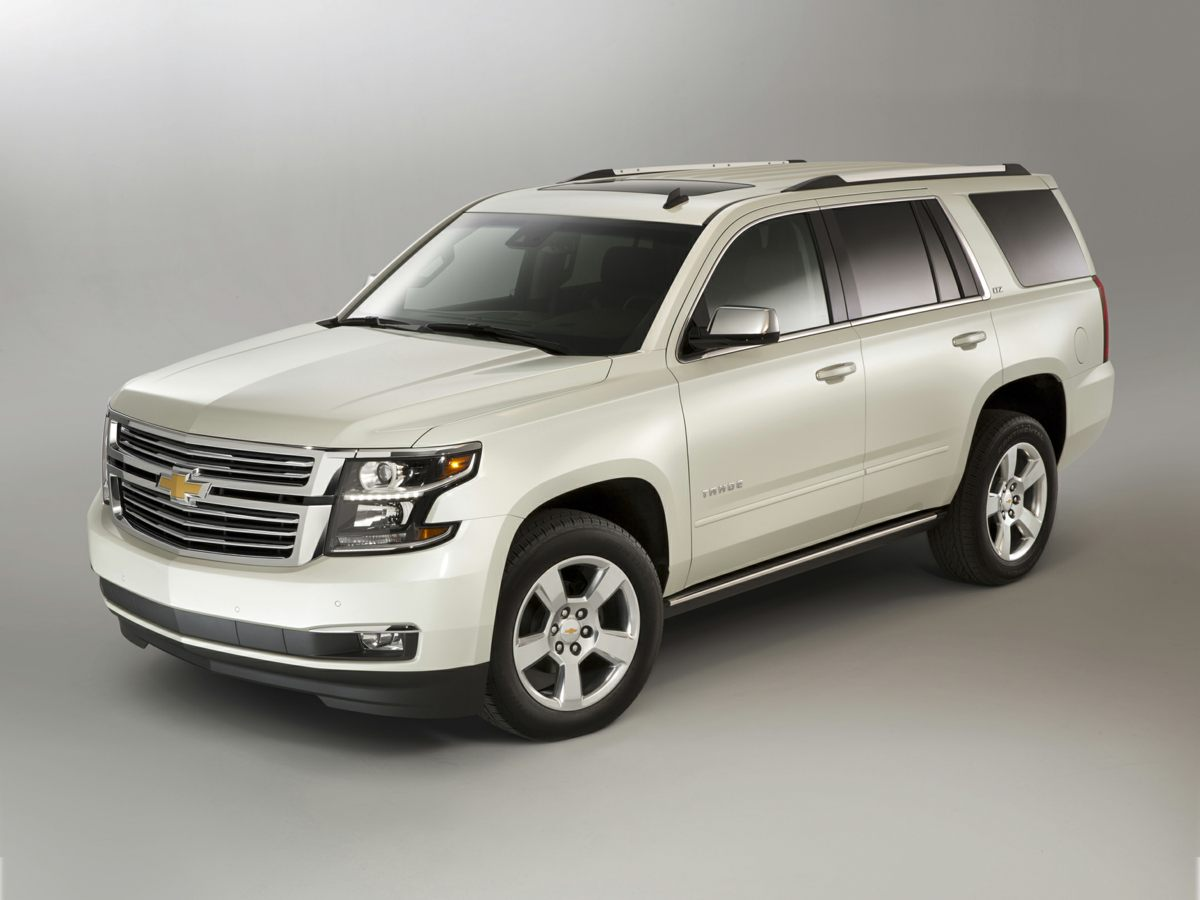 2017 Chevrolet Tahoe LT Gray CARFAX One-Owner 3rd Row Seats GM Certified Wi Fi Satelite Radio
