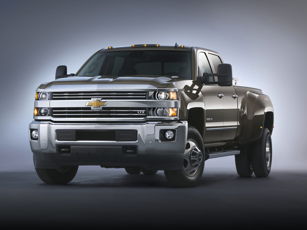 2015 Chevrolet Silverado 3500HD High Country White 410 Rear Axle RatioFront Full Feature Bucket