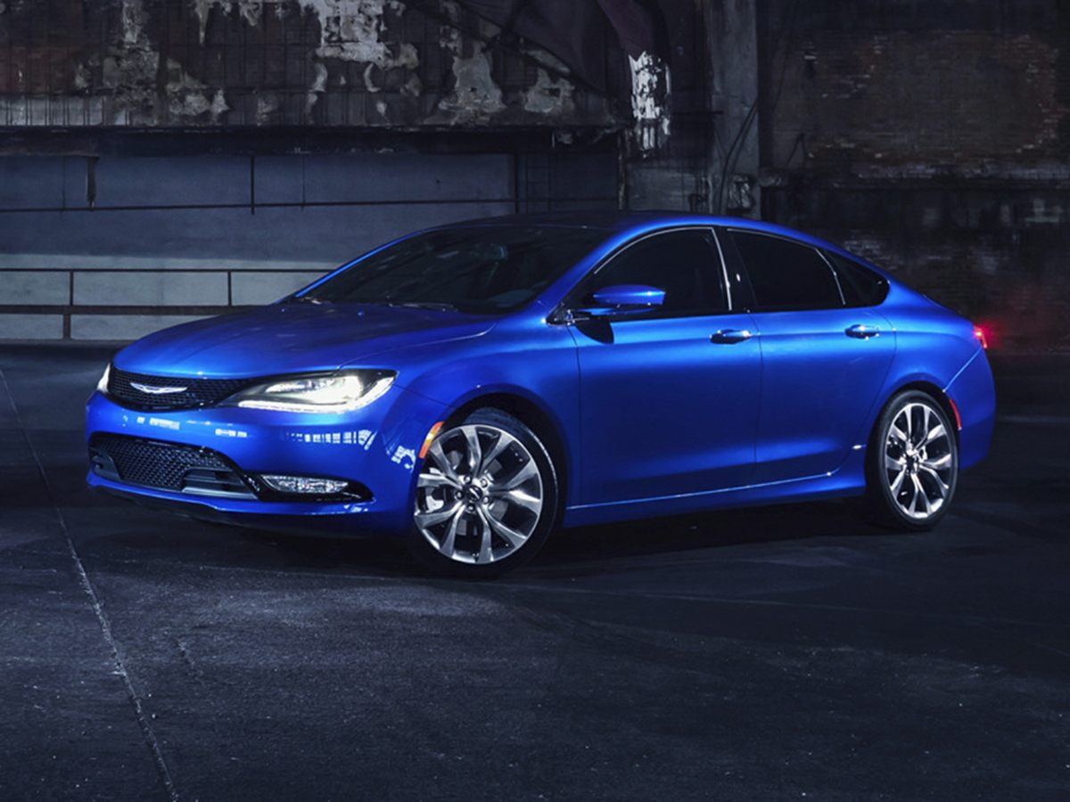 2015 Chrysler 200 S Black In a class by itself Join us at Mac Haik Dodge Chrysler Jeep Ram Temple