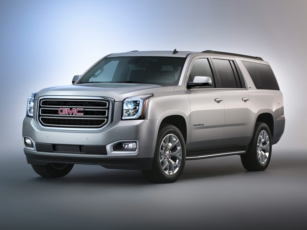 2015 GMC Yukon XL Denali White 4WD Great fuel efficiency for an SUV Stability and traction cont