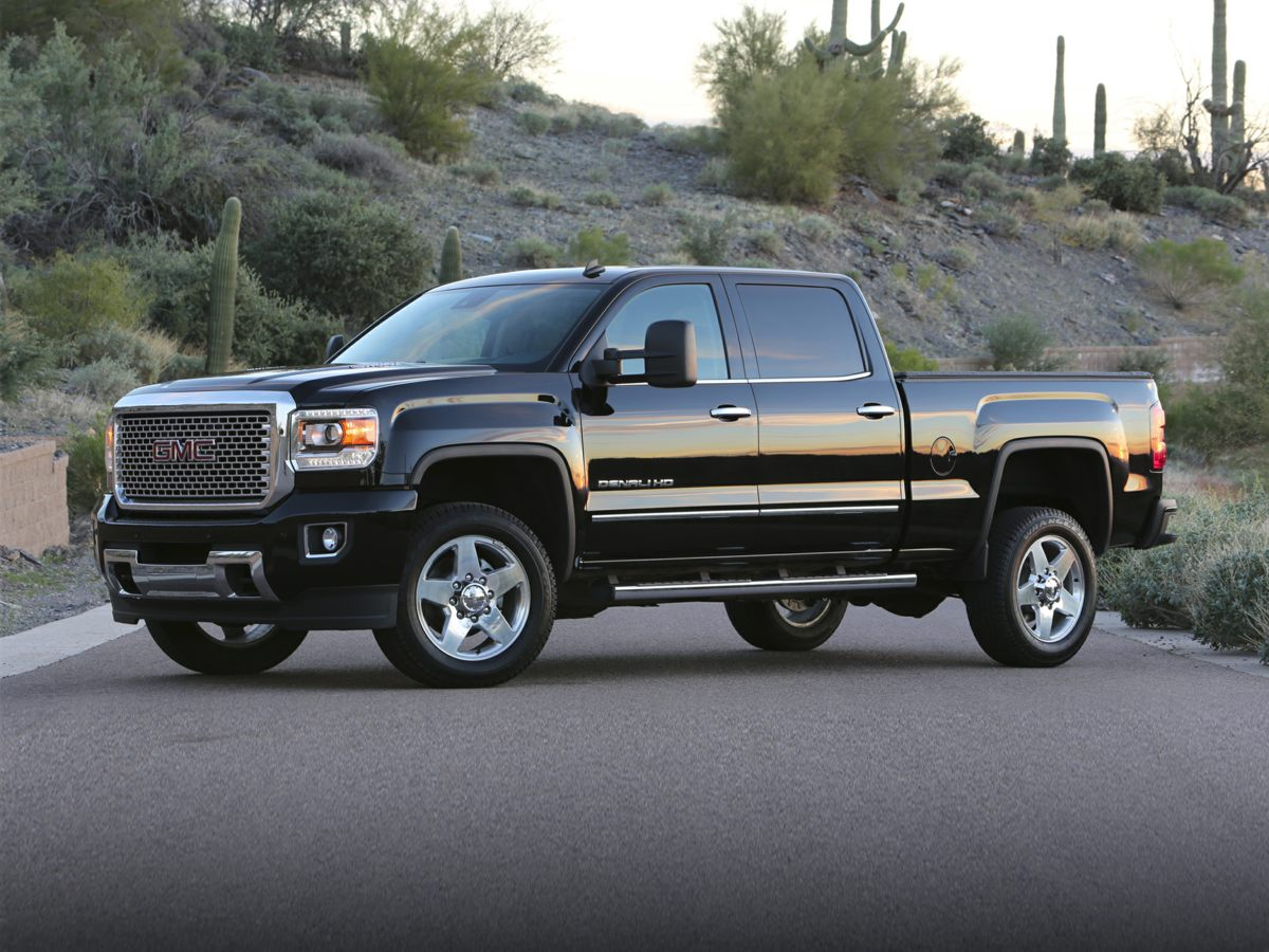 2015 GMC Sierra 2500HD Denali Silver Net Price includes 2000 - General Motors Consumer Cash Pr