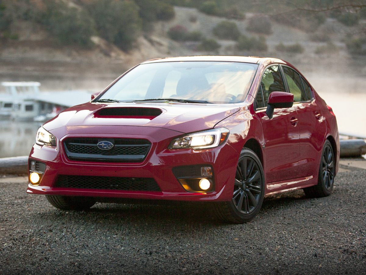 2015 Subaru Impreza WRX Blue Impreza WRX Premium and 4D Sedan User-friendly controls Ride expre