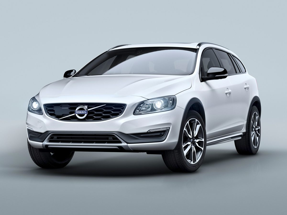 2015 Volvo V60 Cross Country T5 White Front Contour Bucket SeatsSport Leather Seating SurfacesR