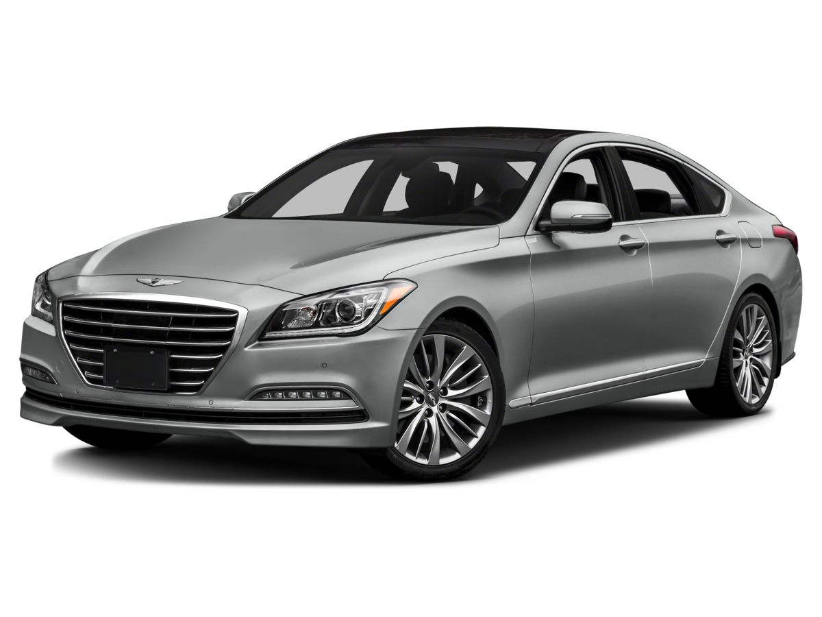 2015 Hyundai Genesis 38 Gray Power Heated Front Bucket SeatsLeather Seating SurfacesRadio AM