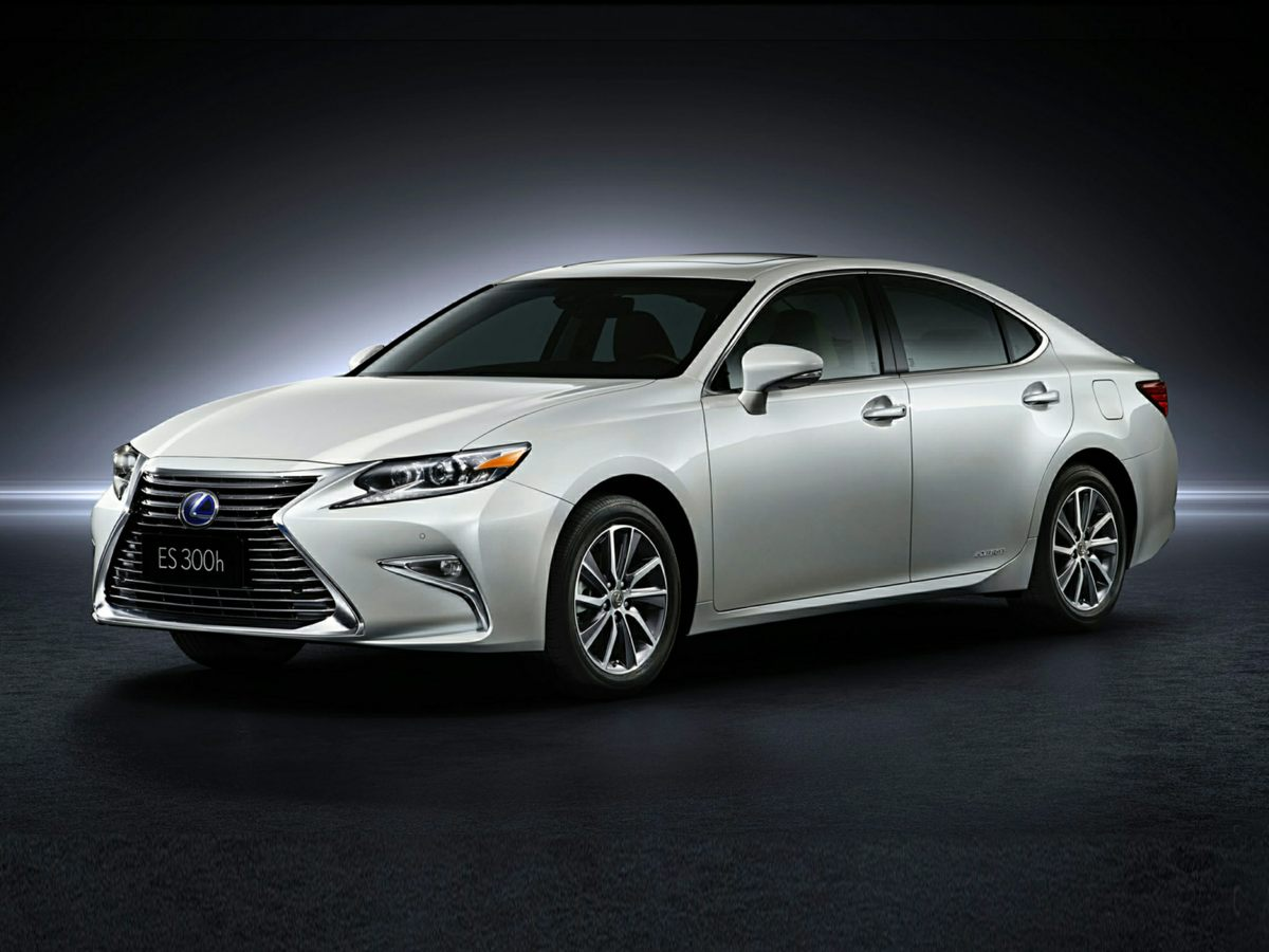 2016 Lexus ES 300h 17 x 7JJ Split 5-Spoke Aluminum Alloy Wheels10-Way Power Adjustable Front Sea