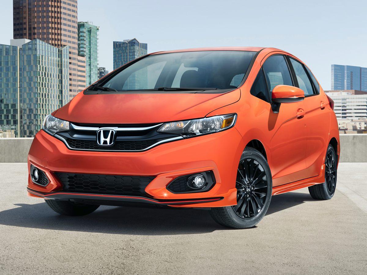 2019 Honda Fit Sport Silver 16 gloss-back alloy wheelsfront bucket seatscloth seat trimAMFM
