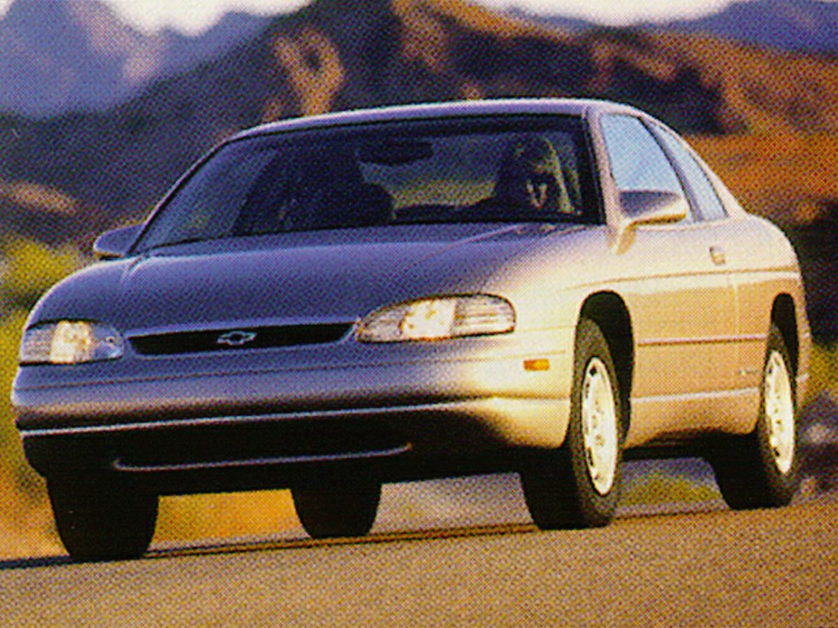 1997 Chevrolet Monte Carlo LS Blue Cloth Seat TrimPower door mirrorsPower steeringPower windows