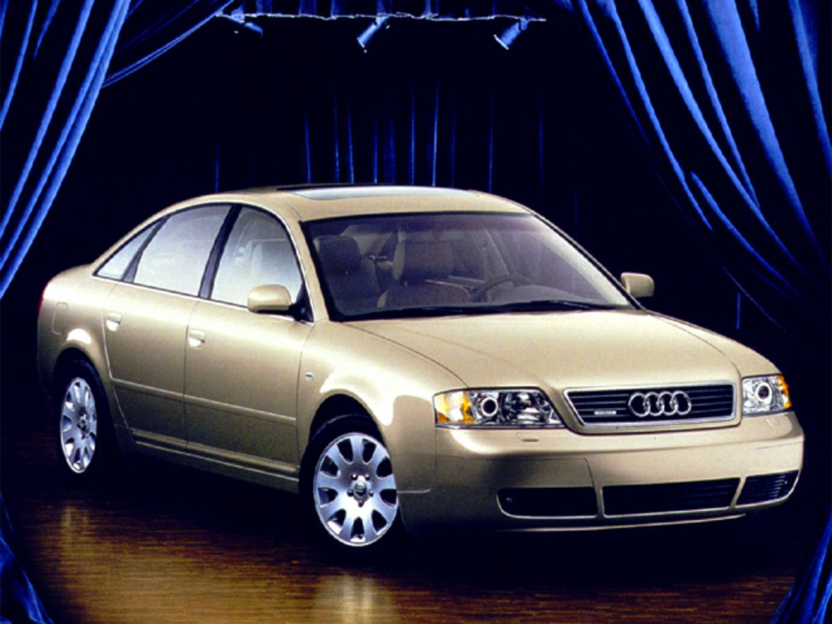 1999 Audi A6 28 Red 4-Wheel Disc BrakesAir ConditioningCassetteFront Bucket SeatsLeather Shi