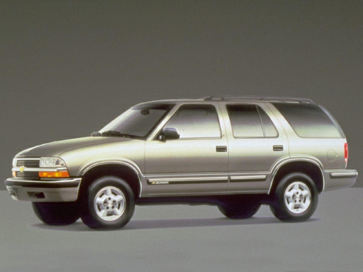 1999 Chevrolet Blazer Blue 308 Axle RatioFront Center Armrest wStorageFront beverage holders