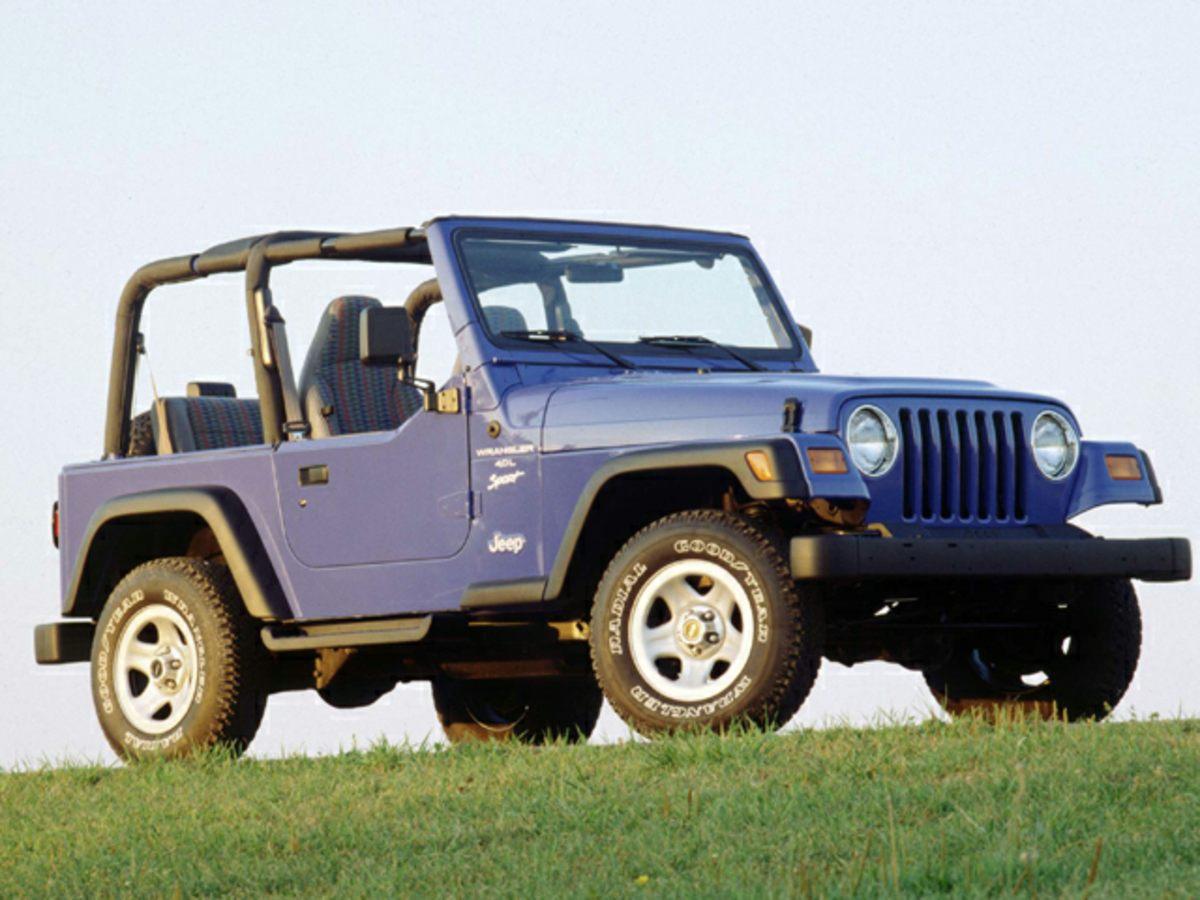 1999 Jeep Wrangler Sport Beige 2 SpeakersAMFM radioPower steeringDual front impact airbagsFr