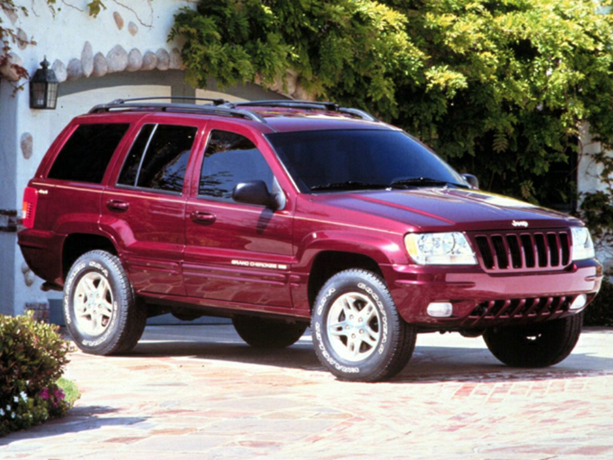1999 Jeep Grand Cherokee Limited Gray Premium Leather Low Back Buckets4-Wheel Disc BrakesAir Co