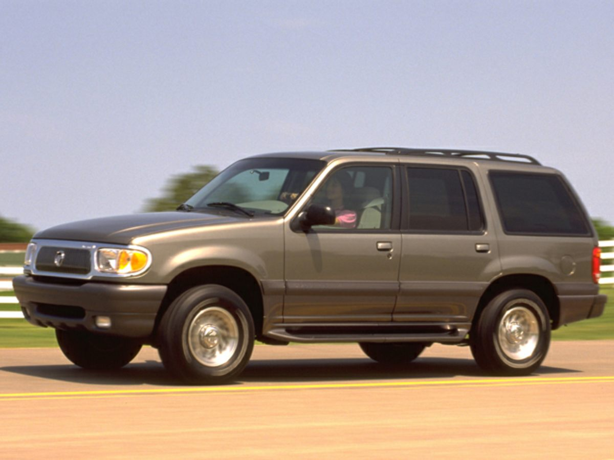 1999 Mercury Mountaineer Base Black Classy Black SUV buying made easy Stop clicking the mouse