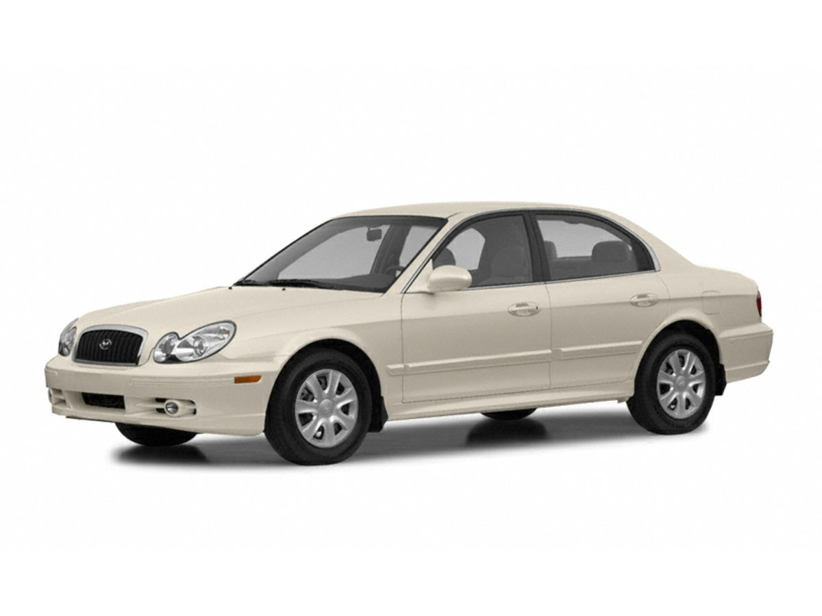 2002 Hyundai Sonata White Front Bucket SeatsAir ConditioningSide AirbagsCruise ControlPower M