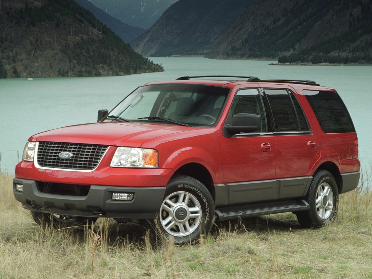2003 Ford Expedition Eddie Bauer White Switch to Manly Automotive The SUV youve always wanted