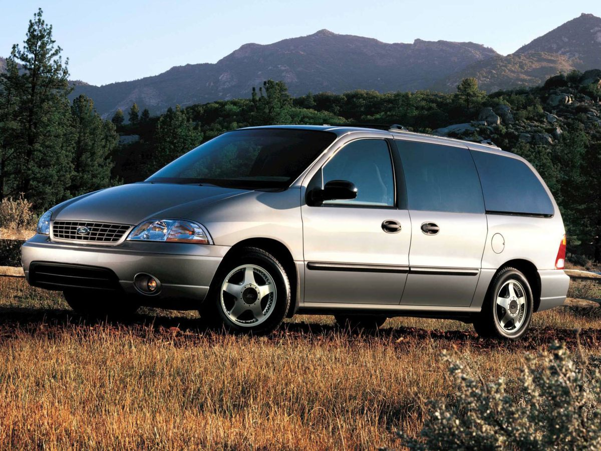 2003 Ford Windstar SEL White 356 Axle Ratio16 5-Spoke Painted Aluminum WheelsLow Back Leather